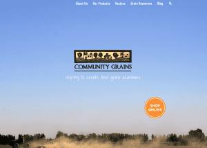 communitygrains homepage